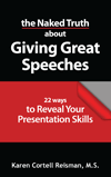 The Naked Truth about Giving Great Speeches Book